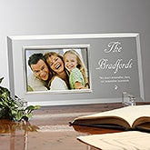Glass Personalized Picture Frames - Reflections Design - 4653