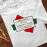 Personalized Kids and Baby Holiday Clothes - Dear Santa - 4662