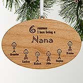 Personalized Wood Christmas Ornament - Reasons Why Collection - 4693