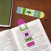 Personalized Kids Bookmarks - Crazy For Stripes Set - 4714