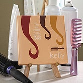 Hair Stylist Personalized Canvas Gift - 4745