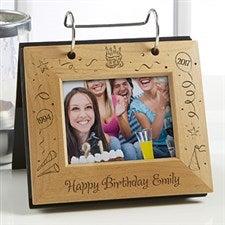 Happy Birthday Personalized Flip Photo Album - 4762