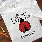 Personalized Baby Bodysuit - Love Bug