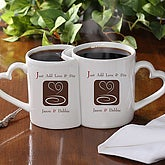 Personalized Sweethearts Coffee Mug Set - Let's Stir Things Up - 4871