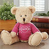 Personalized Teddy Bears - Cuddles of Love Design - 4967