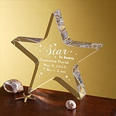 Personalized Gifts - Newborn Baby Star Keepsake - 5016