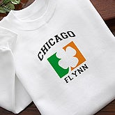 Irish Pride Personalized Clothing - Irish Flag Design - 5074