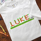 Personalized Kids Clothing for Easter - Crazy for Carrots Design - 5077