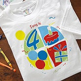 Personalized Kids Clothes - It's Party Time Design - 5084