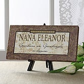 Personalized Canvas Art for Grandmothers & Grandmas - 5166