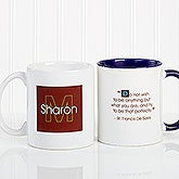 Personalized Coffee Mug with Custom Quotes - 5169