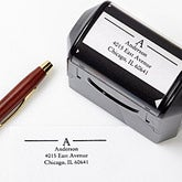 Self-Inking Personalized Address Stamper - Initially Yours - 5185