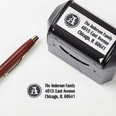 Personalized Self-Inking Return Address Stamper - Signature Style - 5187