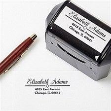 Personalized Return Address Stamp - Diamond Design - 5189