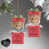 Precious Moments Personalized Baby Christmas Ornament - 5355