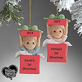 Precious Moments Personalized Baby Christmas Ornament