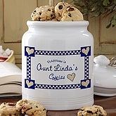 Personalized Happiness Is Cookies Ceramic Cookie Jar - 5360
