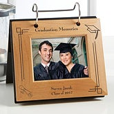 Personalized Graduation Flip Photo Album Frame - 5361