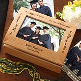 Graduation Memories Personalized Photo Keepsake Box - 5367