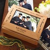 Graduation Memories Personalized Photo Keepsake Box - 5367
