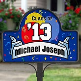 Personalized Graduation Party Yard Sign - 5370