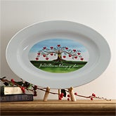 Personalized Family Tree Decorative Plate - 5375