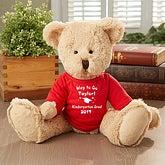 Personalized Graduation Teddy Bear Stuffed Animal - 5378
