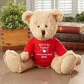 Personalized Graduation Teddy Bear Stuffed Animal - 5378