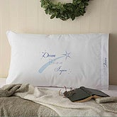 Inspirational Dream, Believe & Inspire Personalized Pillowcase - 5388