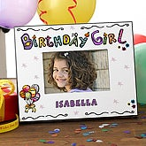 Birthday Girl© Personalized Photo Frame