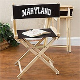 You Name It Personalized Director's Chair - Black - 5396