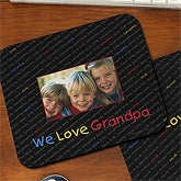 My Little Ones Personalized Mouse Pad for Parents