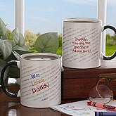 My Little Ones Personalized Coffee Mug for Parents - 5402