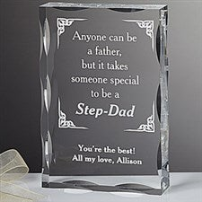 Personalized Step Father Keepsake Gift - 5432