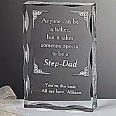 Personalized Step Father Keepsake Gift - 5432