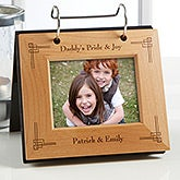 Personalized Flip Picture Album - Precious Memories Design - 5443