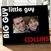 Father & Son Personalized Picture Frame - Big Guy, Little Guy - 5444