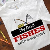 My Dad Is Better Personalized Baby Clothes - 5470