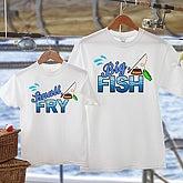 Big Fish Personalized Fishing Sweatshirt for Fishermen