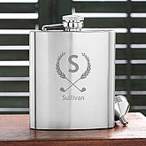 Golf Pro Personalized Golf Pocket Flask - 5493