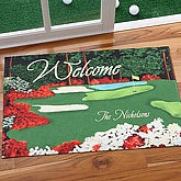 Golfer's Paradise© Personalized Doormat