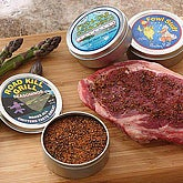 Novelty Barbeque Grill Gourmet Seasoning Spices Set - 5571
