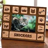 The Cat's Meow Engraved Photo Frame
