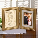 To My Parents On My Wedding Day© Frame