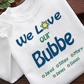 Custom Hanukkah Adult T-Shirt - We Love You Judaica Style