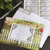 Floral Personalized Moving Announcement Cards