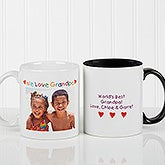 Loving You Personalized Photo Message Ceramic Coffee Mug - 5841