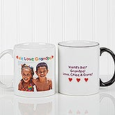 Personalized Photo Message Mug for Men or Women
