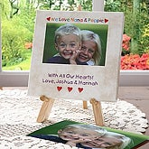 Loving You Personalized Table Top Canvas Art - 5845