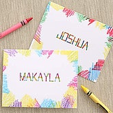 Crayon Time Custom Stationery for Kids